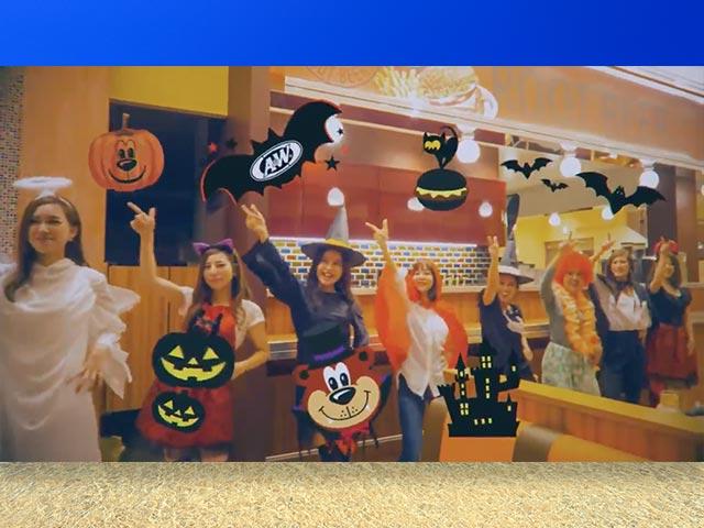 【動画】A&W blackhalloween