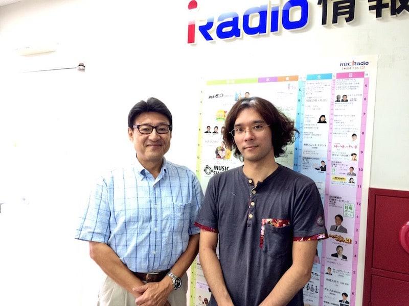 【ラジオ】RBCiラジオ「シャキッとi」ゲスト出演