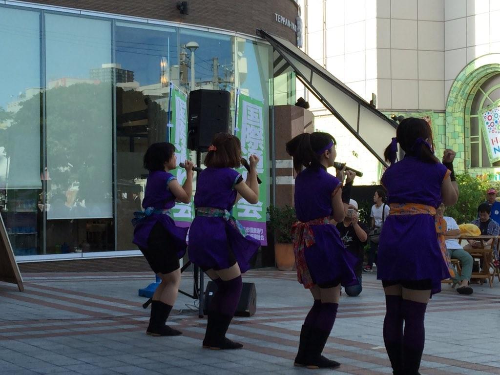 琉球忍者初ステージ