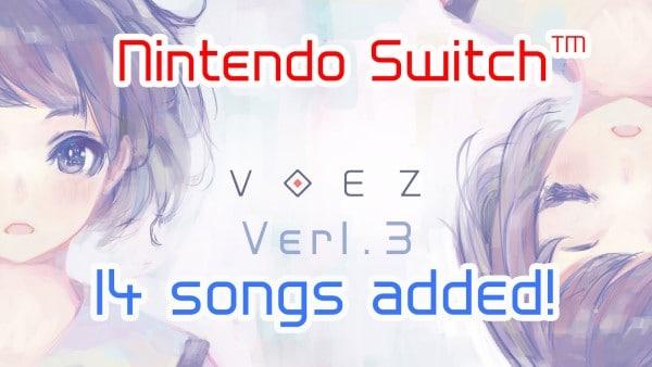 【NS】VOEZ Ver.1.3に魔神少女「異世界の約束」収録